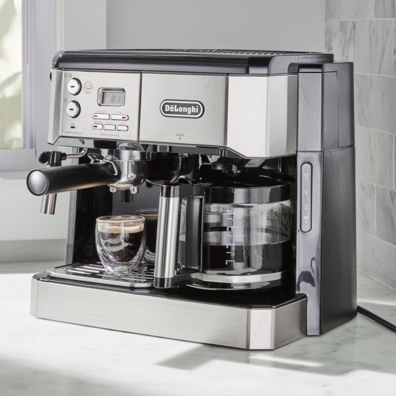 Delonghi Combination Coffee/Espresso Machine Crate and Barrel