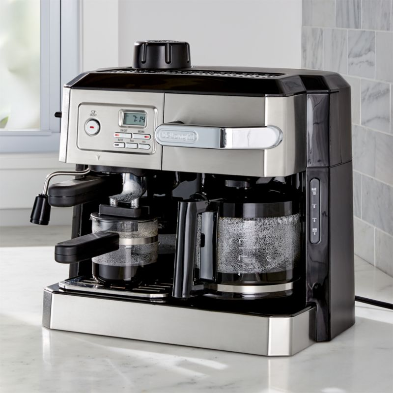 delonghi combination coffee and espresso machine crate. Black Bedroom Furniture Sets. Home Design Ideas