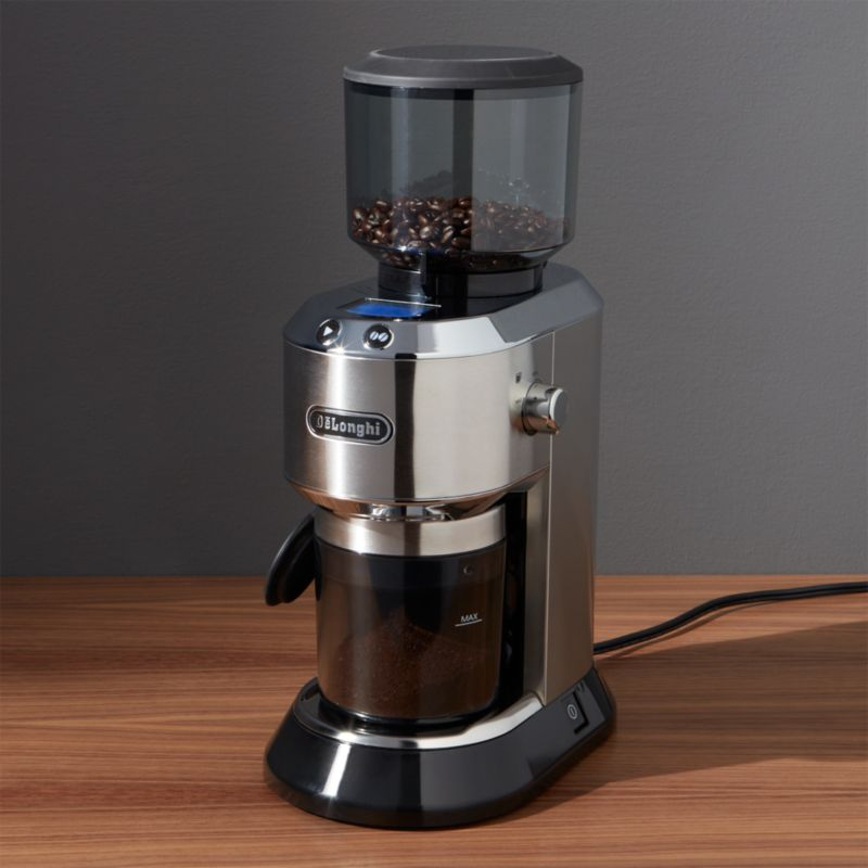 Delonghi Burr Coffee Grinder Crate and Barrel