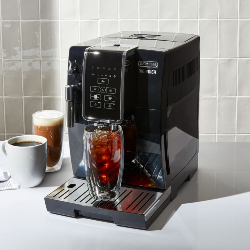 De'Longhi Dinamica Fully Automatic Coffee and Espresso Machine + Reviews | Crate and Barrel