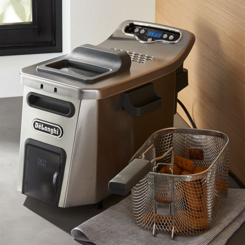 De Longhi Livenza Deep Fryer Reviews Crate And Barrel