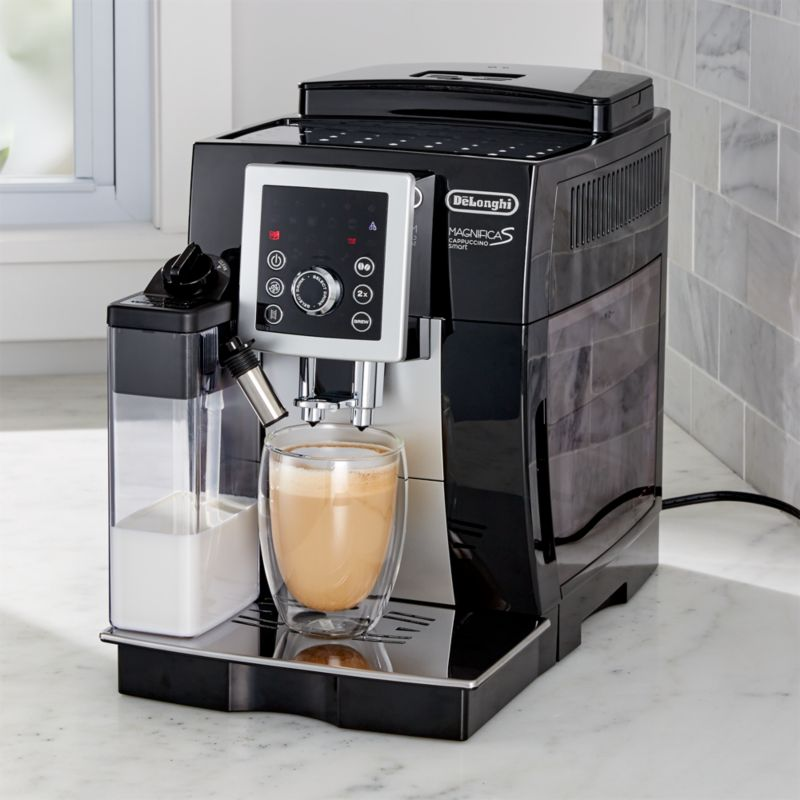 delonghi magnifica super automatic beverage machine. Black Bedroom Furniture Sets. Home Design Ideas
