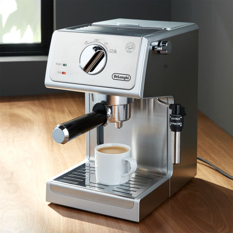 espresso coffee machine delonghi stainless steel espresso maker reviews 10531