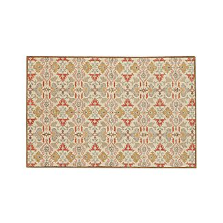 Delphine Spice Orange Wool 6'x9' Rug