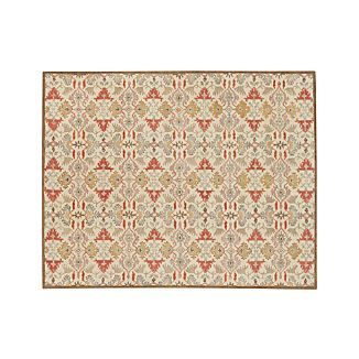 Delphine Spice Orange Wool 8'x10' Rug