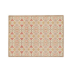 Delphine Orange Wool 12 Quot Sq Rug Swatch Reviews Crate