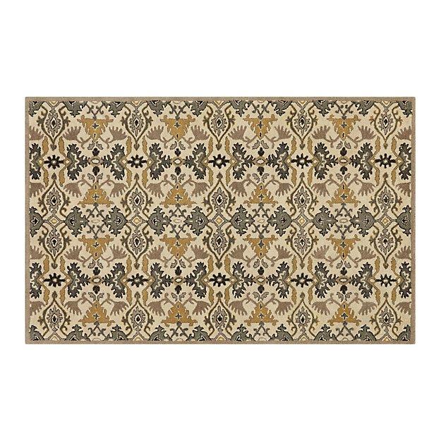 Delphine Sage Wool 5'x8' Rug
