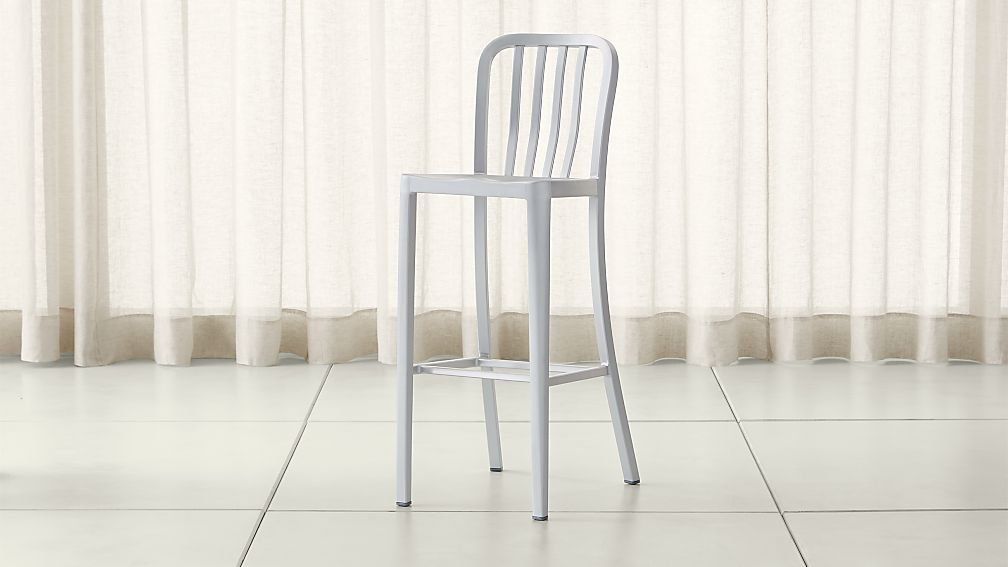 Delta Aluminum Bar Stool Reviews Crate And Barrel