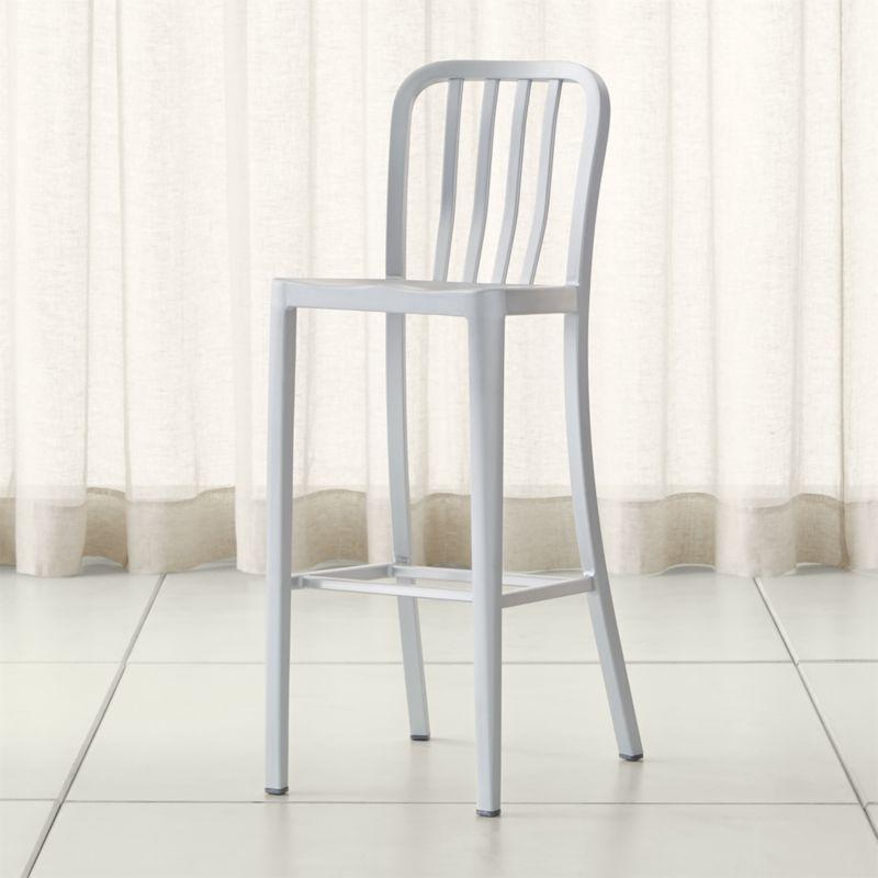 delta aluminum bar stool