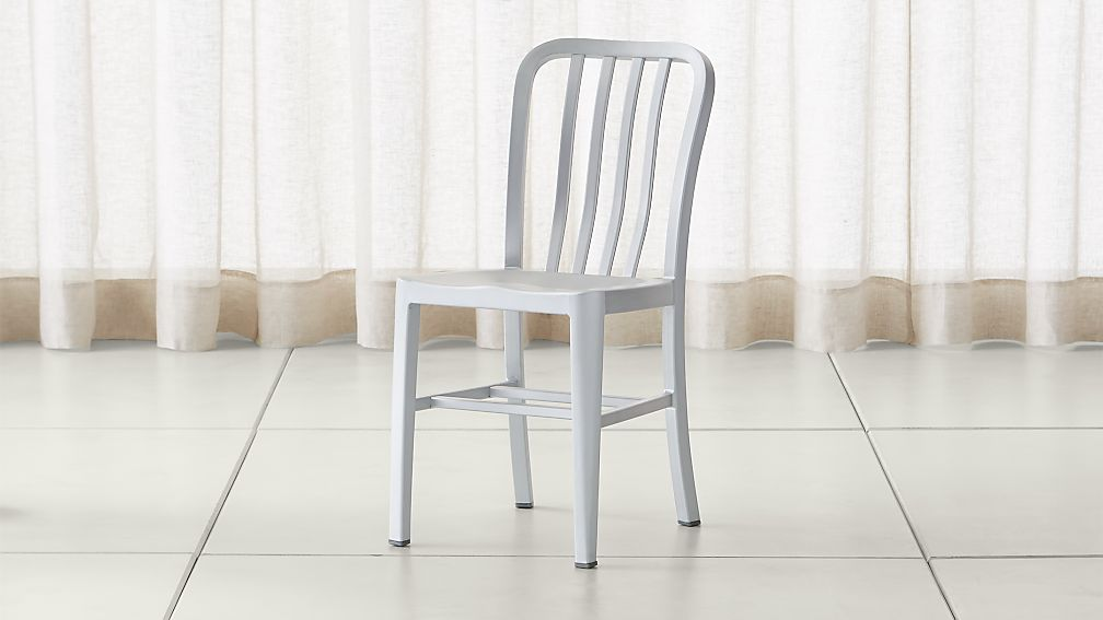 delta aluminum dining chair reviews crate and barrel