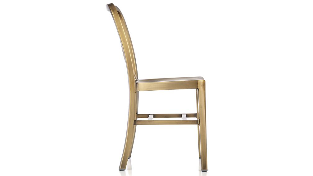 Delta Brass Dining Chair