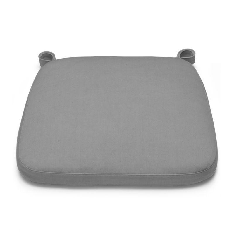 Our custom cushion in neutral alloy features a contemporary box style.<br /><br /><NEWTAG/><ul><li>100% cotton</li><li>55% polyurethane and 45% polyester foam insert with 100% polypropylene ticking</li><li>Zipper closure</li><li>Wash cover in cold water, tumble dry low</li><li>Do not bleach</li><li>See product label or call customer service at 800.606.6462 for additional details on product content</li><li>Made in India</li></ul>