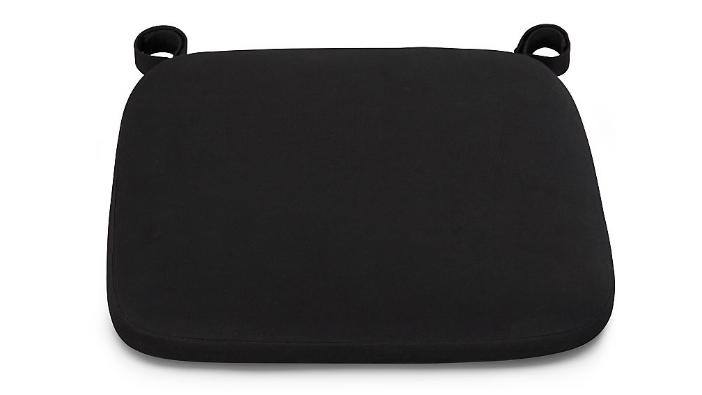 Delta Black Chair Bar Stool Cushion Crate and Barrel : DeltaChairCushionBlackS1016x9 from www.crateandbarrel.com size 1008 x 567 jpeg 20kB