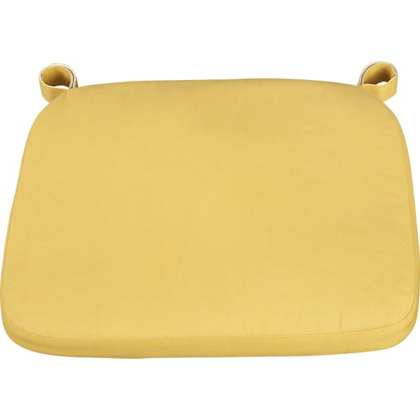 Delta Yellow Chair–Bar Stool Cushion