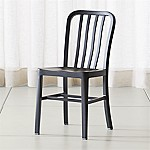 Delta Matte Black Dining Chair