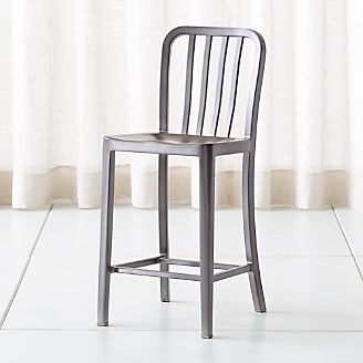 delta nickel counter stool