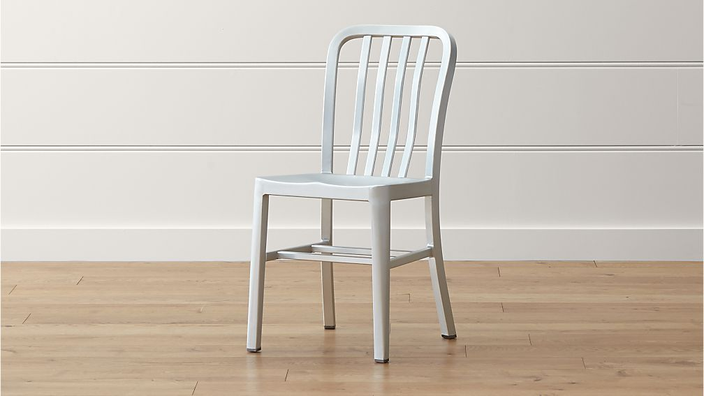 Delta Aluminum Dining Chair