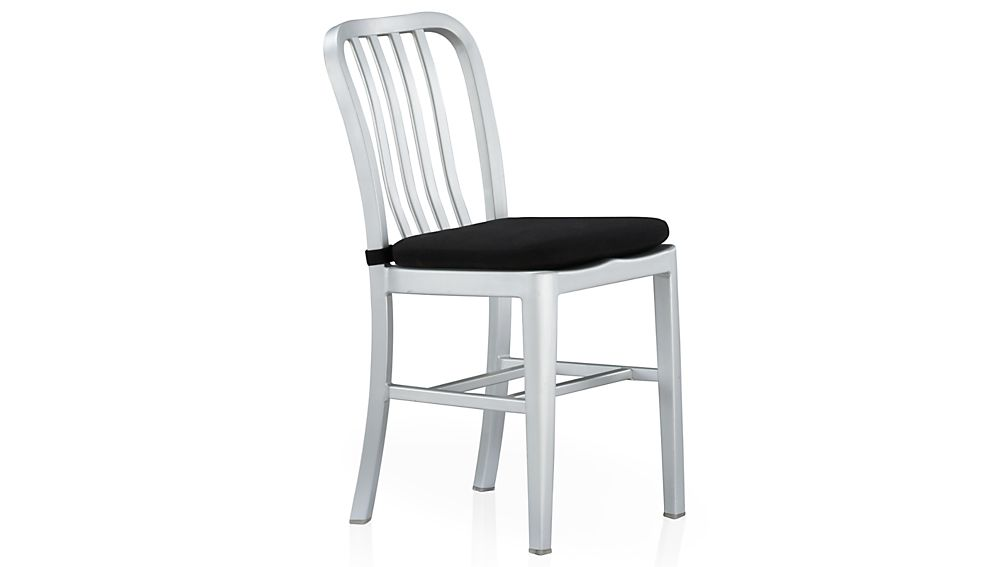 ... Delta Black Chair Bar Stool Cushion