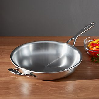 "ZWILLING ® Demeyere Atlantis Proline Stainless Steel 11"" Fry Pan with Helper Handle"