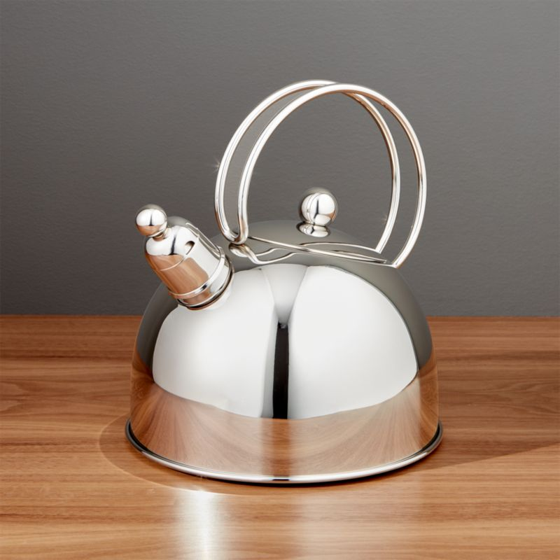 Zwilling Demeyere Resto Stainless Steel Tea Kettle