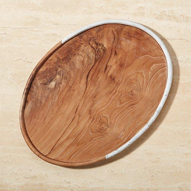 Denali Oval Serving Platter Reviews Crate And Barrel