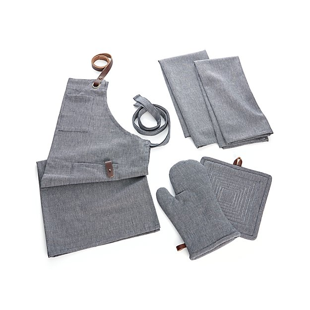 Denim Kitchen Textiles - Image 1 of 2