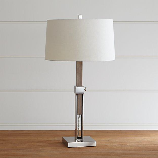 Denley Nickel Table Lamp - Image 1 of 9