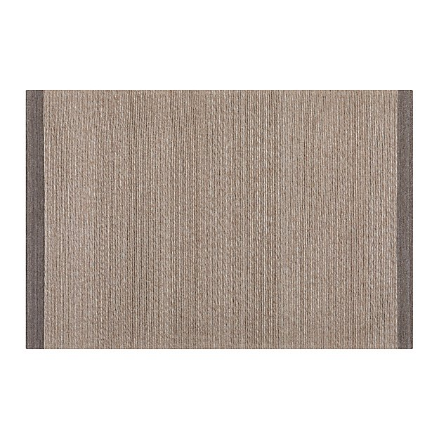 Desi Latte Brown 6x9 Rug