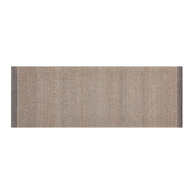 Desi Latte Brown Rug Runner Crate And Barrel