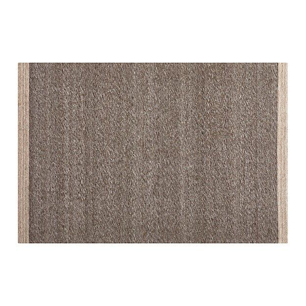 Desi Mocha Brown-Grey 4'x6' Rug