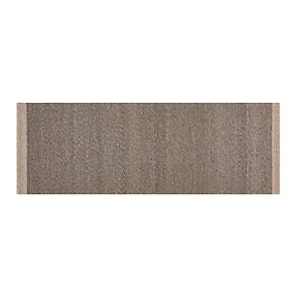Desi Mocha Brown-Grey 2.5'x7' Rug Runner