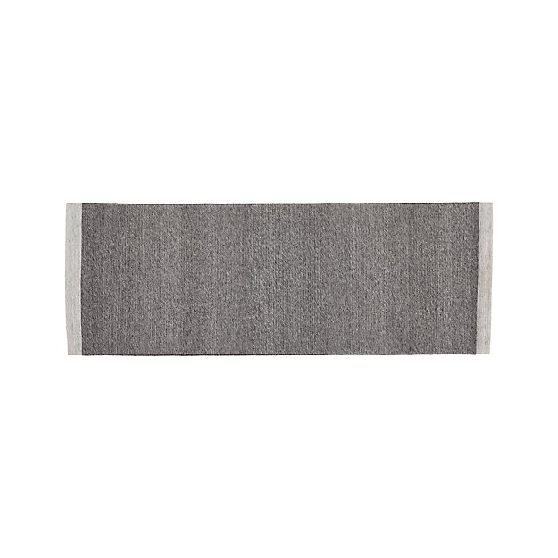 Desi Pewter Grey 2.5'x7' Rug Runner