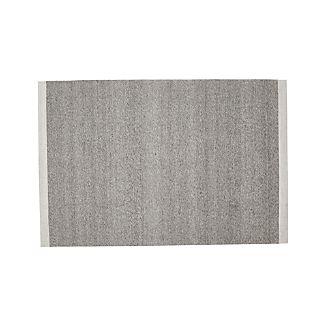 Desi Smoke Grey 6'x9' Rug