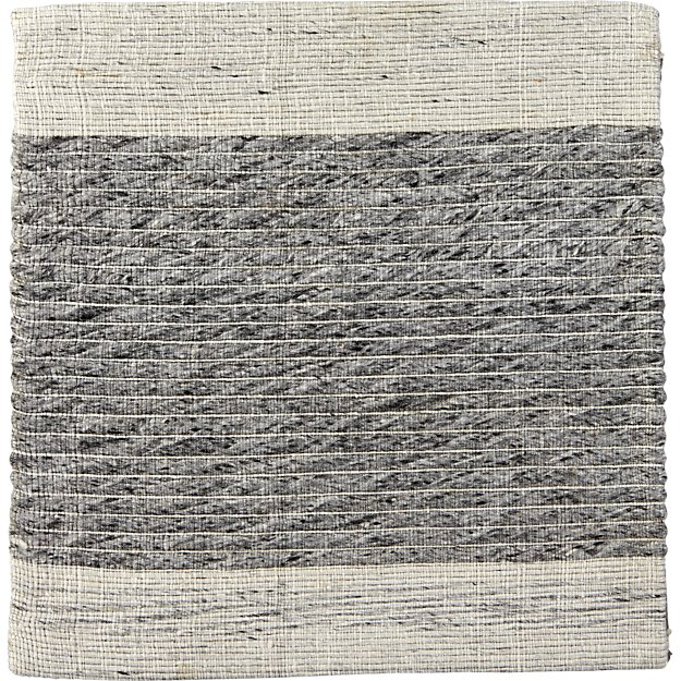 "Desi Smoke 12"" sq. Rug Swatch"