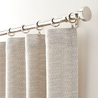 Desmond Silver/Cream Curtain Panels