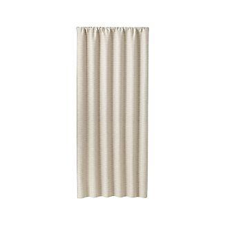"Desmond Silver/Cream 50""x84"" Curtain Panel"