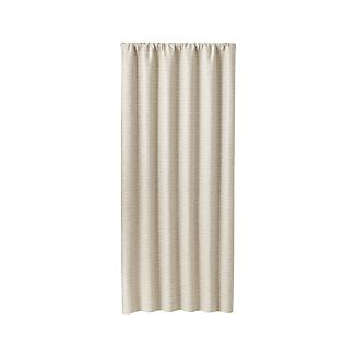 "Desmond Silver/Cream 50""x108"" Curtain Panel"