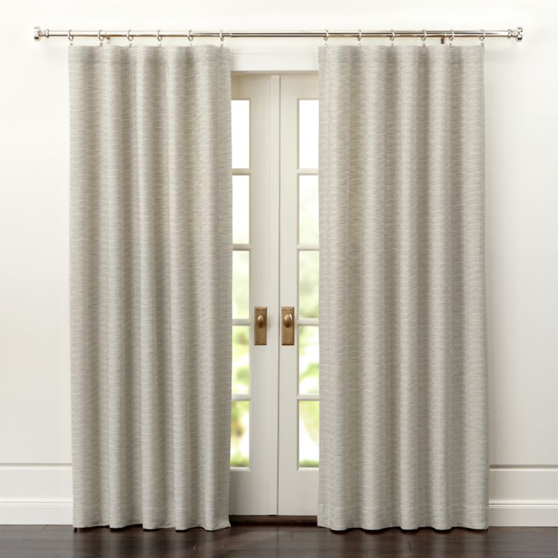 burlap window shades curtain panels and window coverings crate and barrel
