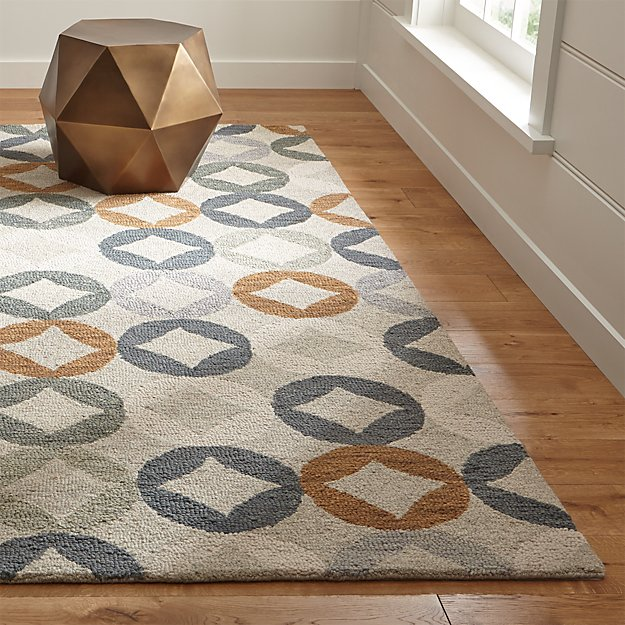 Destry Geometric Diamond Rug Crate And Barrel
