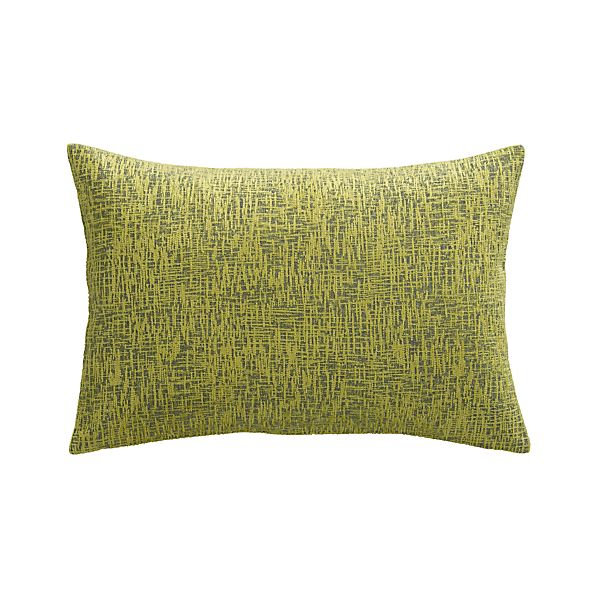 "Devin Dijon 18""x12"" Pillow with Down-Alternative Insert"