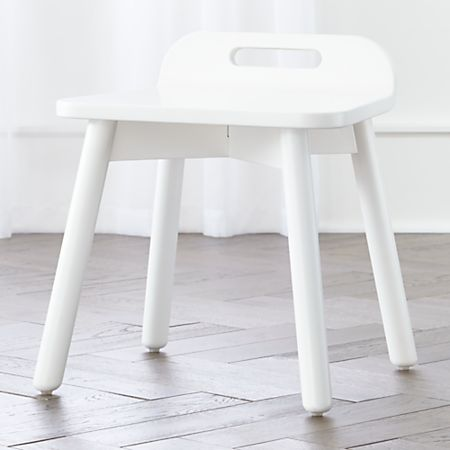 Miraculous Devon White Modern Kids Chair Crate And Barrel Gmtry Best Dining Table And Chair Ideas Images Gmtryco