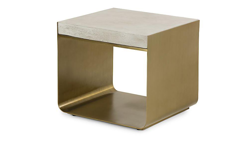 Dexter Concrete Top End Table - Image 1 of 6