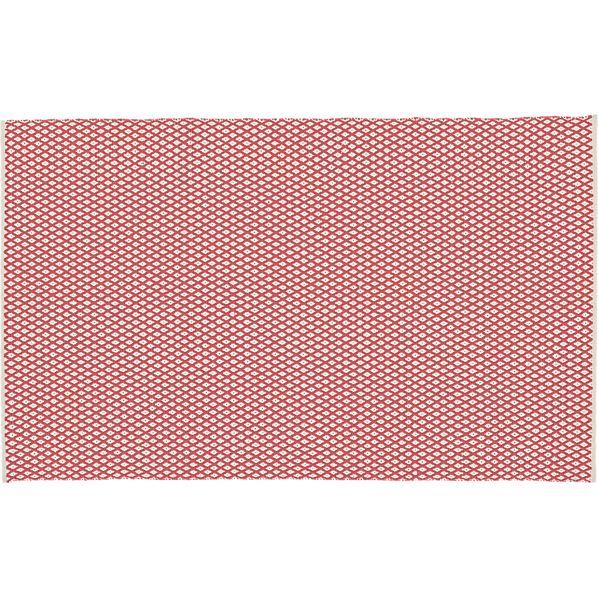 Diamond Coral Indoor-Outdoor 5'x8' Rug