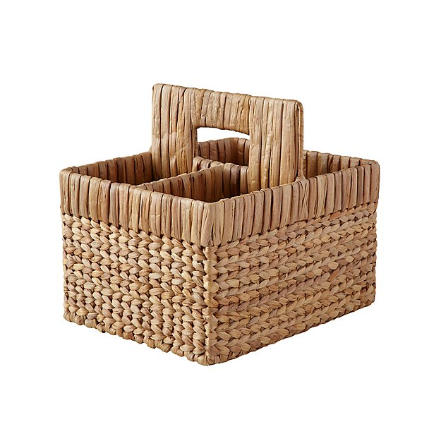 Natural Wicker Diaper Caddy - Image 1 of 7