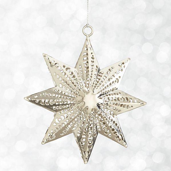 Dimensional Star Ornament