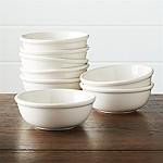 Dinette Cereal Bowls, Set of 8