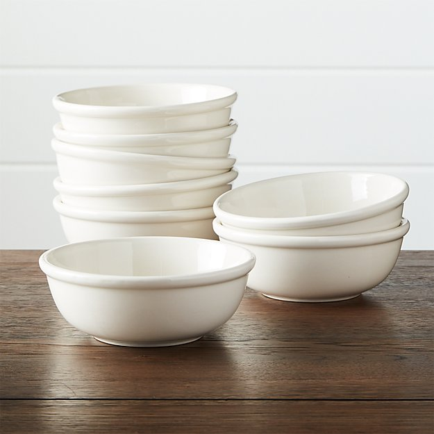 Set of 8 Dinette Cereal Bowls
