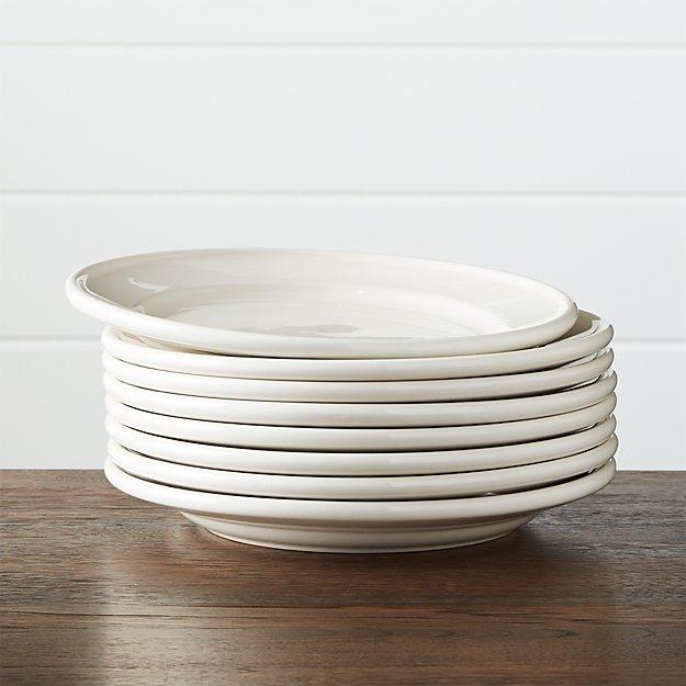 Set of 8 Dinette Dinner Plates