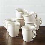 Dinette Mugs, Set of 8