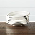 Set of 8 Dinette Salad Plates